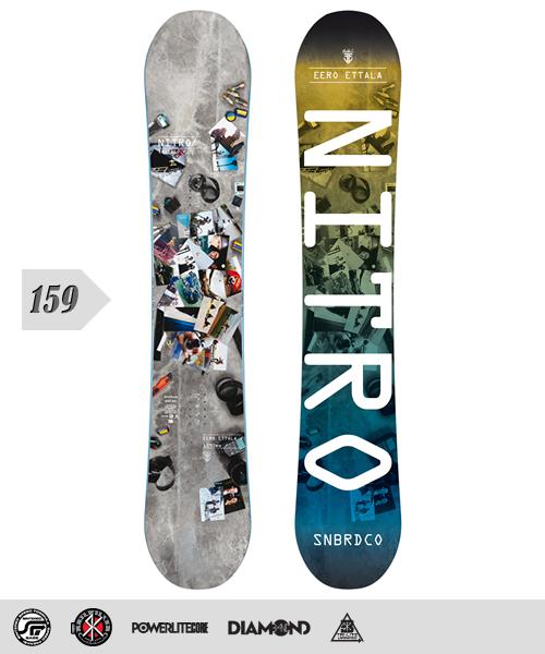 NITRO[ナイトロ]【EERO ETTALA PRO MODEL 】スノーボード 2013年モデル 159cm