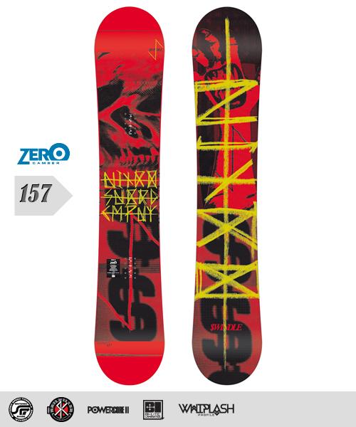 NITRO[ナイトロ]【SWINDLE】スノーボード 2013年モデル 157cm