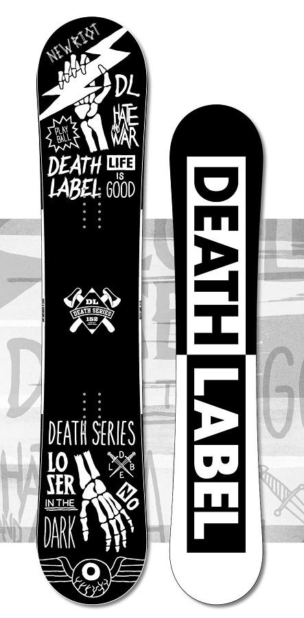 ★本数限定大特価★DEATH LABEL[デスレーベル] 【DEATH SERIES】 14-15 スノーボード 2015年NEWモデル