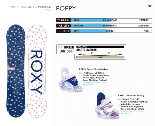 ROXY 20-21 POPPY 商品画像