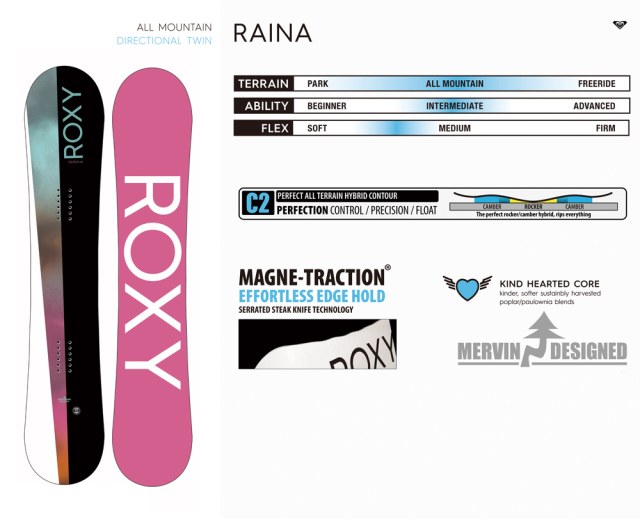 ROXY 20-21 RAINA 商品画像