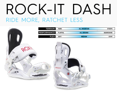 ロキシー(ROXY) 20-21モデル バインディング ROCK-IT DASH