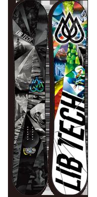 ★本数限定大特価★LIB TECH 【T.RICE HP】 14-15 NEWモデル