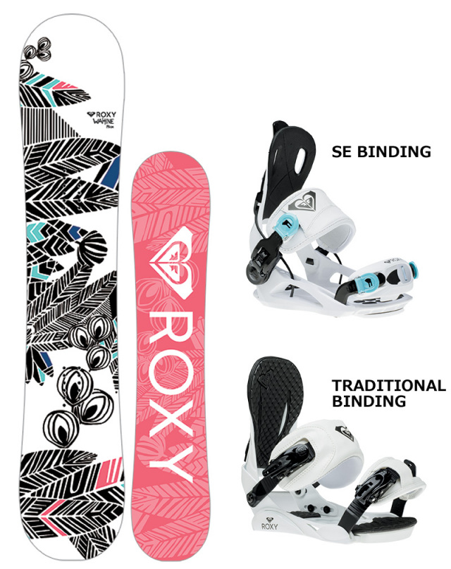 ロキシー(ROXY)WAHINE BINDING SET 16-17NEW MODEL!! 30%OFF SALE!!