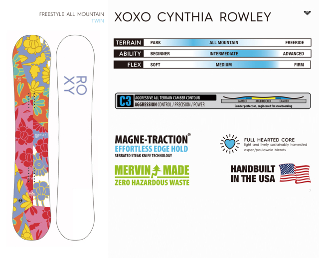 ROXY 20-21 XOXO-CYNTHIA 商品画像