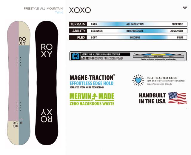 ROXY 20-21 XOXO 商品画像
