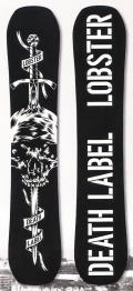 ★早期予約大特価★DEATH LABEL[デスレーベル] 【LOBSTER】 17-18スノーボード 2018年NEWモデル