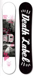 ★週末セール売り切れ御免!大特価★DEATH LABEL[デスレーベル] 【TRUST GIRLS  WING】 15-16 スノーボード 2016年NEWモデル