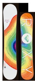 ★早期予約大特価★ROXY[ロキシー] 【BANANA SMOOTHIE】 14-15 スノーボード 2015年NEWモデル
