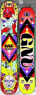 GNU[グヌー] 【HEAD SPACE】 15-16 スノーボード 2016年NEWモデル