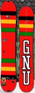 GNU[グヌー] 【BEAUTY SPLIT】 15-16 スノーボード 2016年NEWモデル
