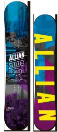 企画!1本限定★早期予約大特価★ALLIAN[アライアン] 【GRIND】 14-15 スノーボード 2015年NEWモデル