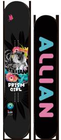 1本限定★早期予約大特価★ALLIAN[アライアン] 【PRISM GIRL】 14-15 スノーボード 2015年NEWモデル
