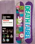DEATH LABEL[デスレーベル] 【TRUST GIRLS WING】トラストガールズ ウィング 12-13 スノーボード 2013年モデル