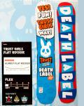 DEATH LABEL[デスレーベル] 【TRUST GIRLS FLAT ROCKER】トラストガールズ フラットロッカー 12-13 スノーボード 2013年モデル