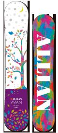 限定1本!★大特価★ALLIAN[アライアン] 【VIVIAN】 14-15 スノーボード 2015年NEWモデル