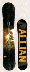 各1本限定★大特価★ALLIAN[アライアン] 【NIRVANA】 15-16 スノーボード NEWモデル