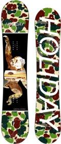 限定1本★歳末セール★HOLIDAY[ホリデー] 【ADDICT】15-16 スノーボード 2016年NEWモデル