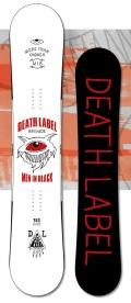 在庫処分★1本限定!大特価★DEATH LABEL[デスレーベル] 【MEN IN BLACK】 14-15 スノーボード 2015年NEWモデル