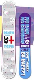 ★限定1本!大特価★DEATH LABEL[デスレーベル] 【TRUST GIRLS FLAT ROCKER】 14-15 スノーボード 2015年NEWモデル
