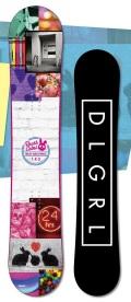 1本限定★スーパーセール!大特価★DEATH LABEL[デスレーベル] 【TRUST GIRLS WING】 14-15 スノーボード 2015年NEWモデル