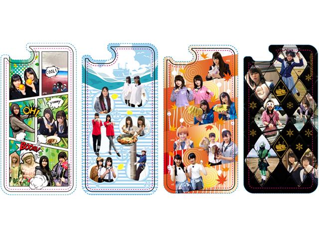 ※フィルムのみ5枚入り※「せとチャレ!STU48」スマートフォン用着せ替えフィルム