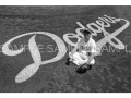 【MLB公認】前田健太アートフォトat Dodger Stadium(Aバージョン・ブラック)[限定60個]
