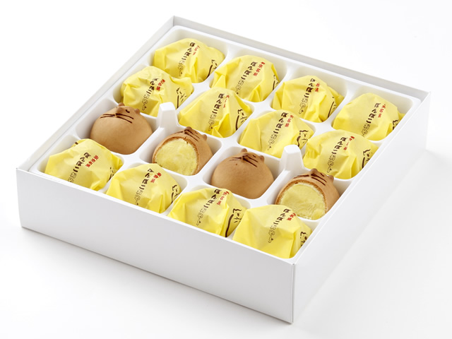 東京名菓 ぽんぽこおやじ 16個入