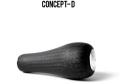 スタジオコンポジット CONCEPT D R27XXL カーボンノブ 単体 代引不可