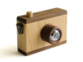 木のおもちゃのカメラ チャック マストロジェッペット
