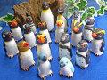 18種類のペンギンフィギュアのセット/アトリエ☆イボヤギ