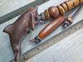 サーファー必見!ウッド(木彫り)キーホルダー イルカ