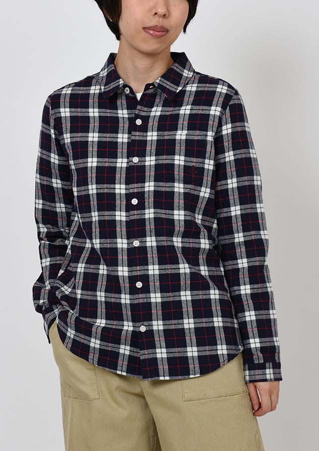【2019秋冬】起毛チェックシャツ【PE129601】【ポートランド】