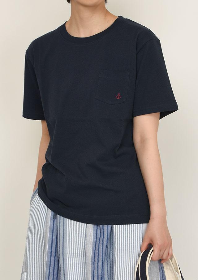 【2021春夏】USAコットン無地イージーフィットポケット付きTシャツ【PL151008】【ポートランド】