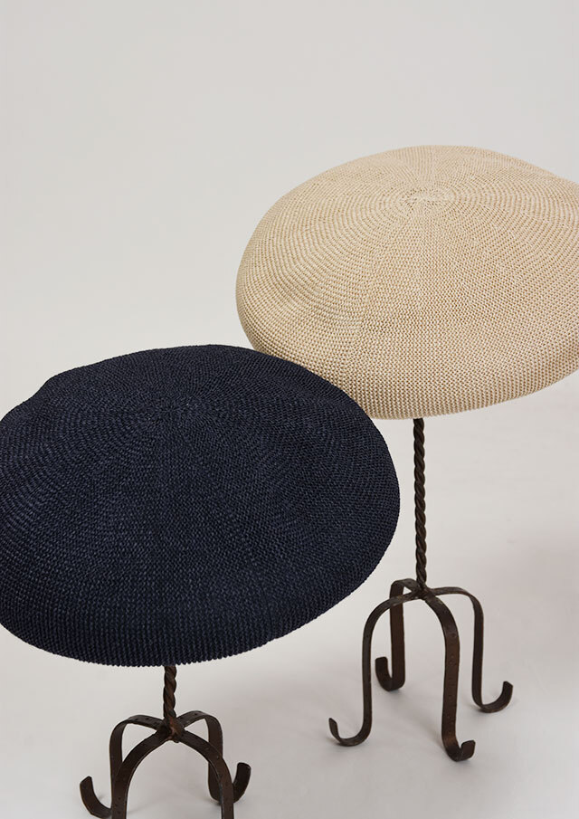 SALE!!【2020春夏】クリスピーベレー帽【272J502P-A】【Selection】
