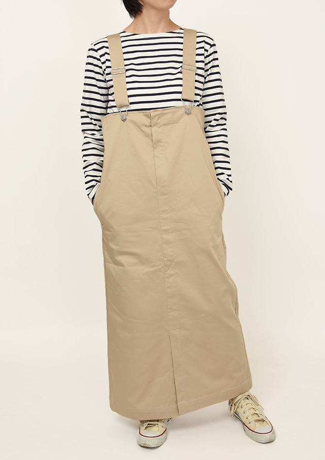 SALE!!【2021春夏】吊りスカート【P-9158288】【ポートランド】