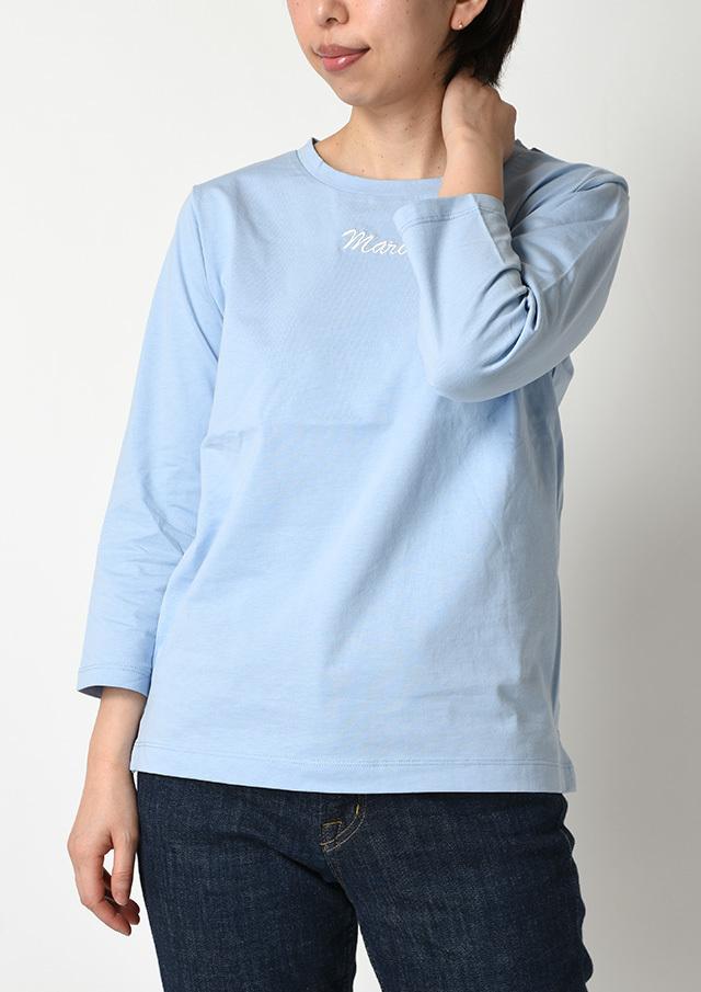 CharmingSale10%OFF!!【2020春夏】ロゴ刺繍クルーネックカットソーTシャツ【PL070104】【ポートランド】