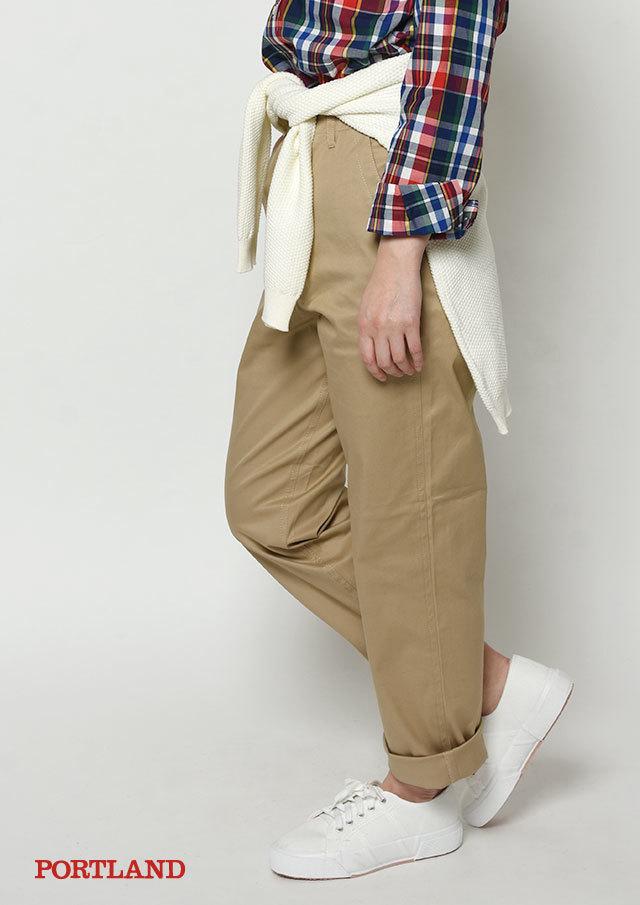 【2019春夏】ベイカー風パンツ【PL099003B】【ブルーライフ】