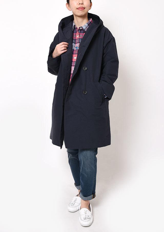 【2019春夏】グログランフードコート【PL119004B】【ブルーライフ】