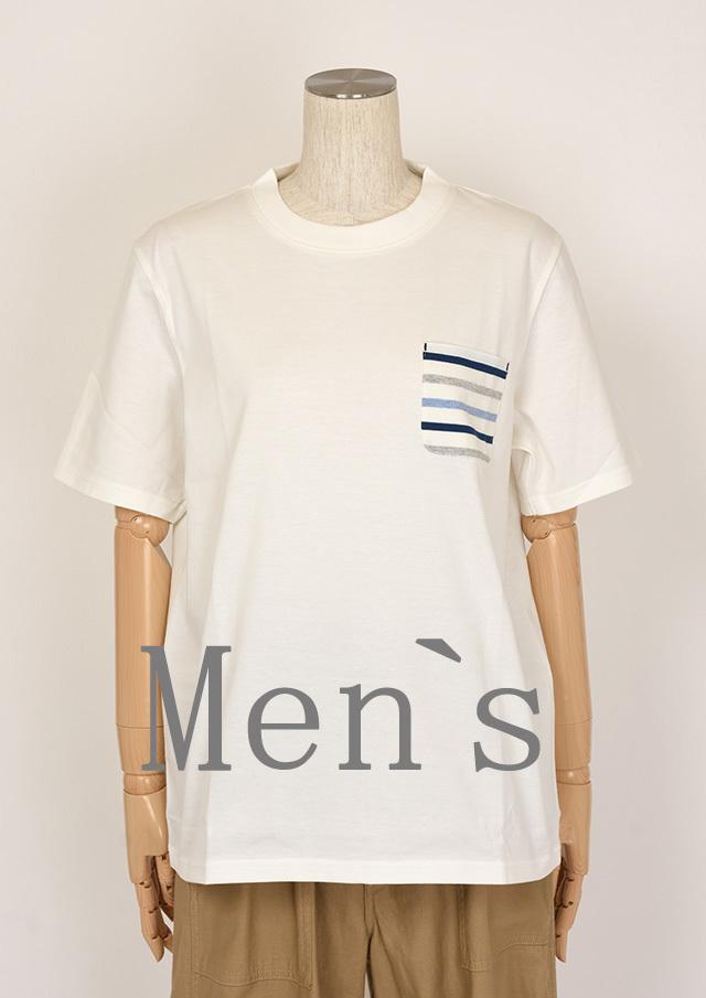 SALE!!【2020春夏】MENSポケットボーダークルーネックTシャツ半袖【メンズ】【PL150007AA】【ポートランド】