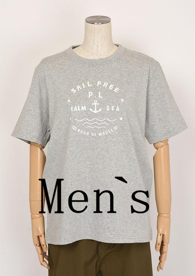 20%OFF!!【2020春夏】MENSプリントTシャツ半袖【メンズ】【PL150101AA】【ポートランド】