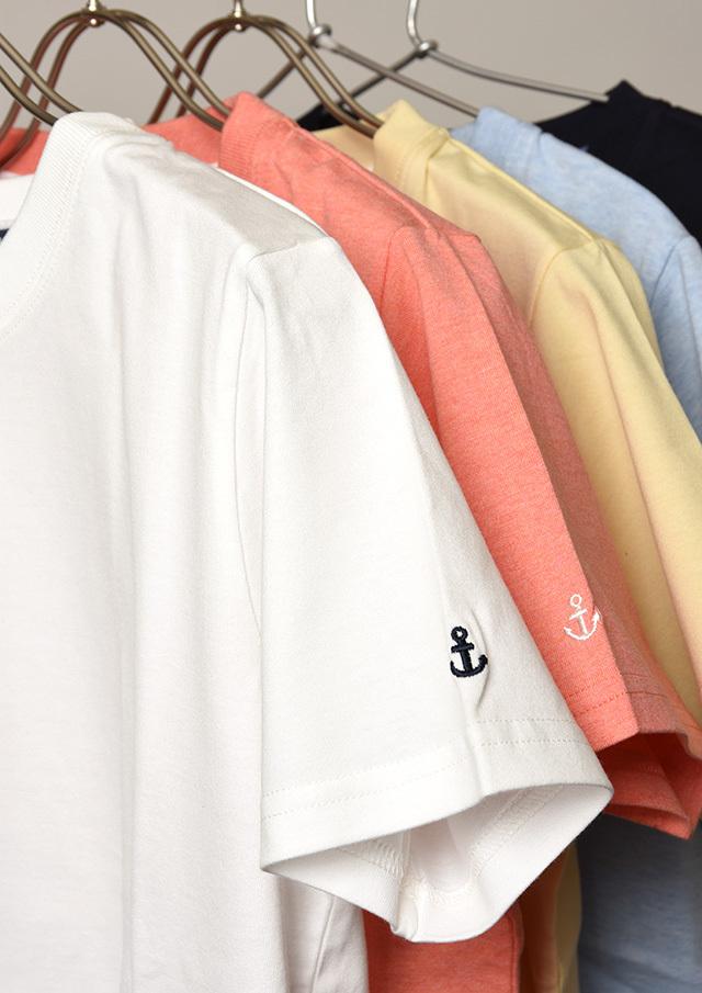 【2021春夏】ベーシック無地クルーネックTシャツ【PL151099A】【ポートランド】