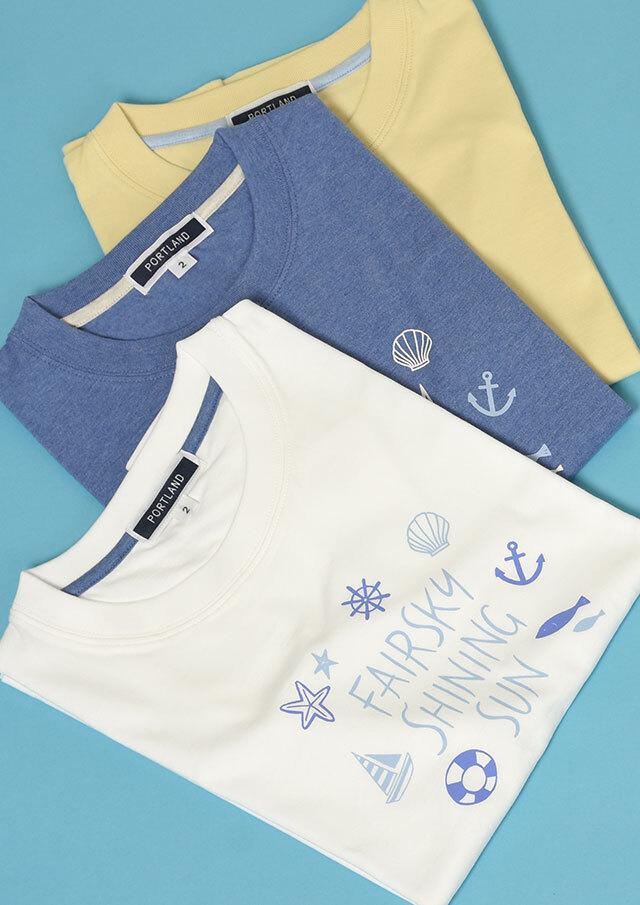 【2021春夏】イラストプリントTシャツ半袖【PL151102】【ポートランド】