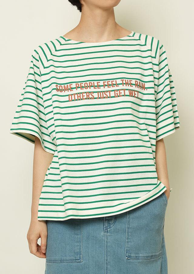SALE!!【2021春夏】ボーダーラグランTシャツ【PL151118B】【ブルーライフ】