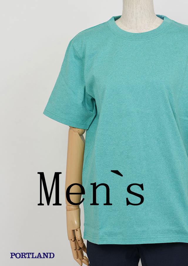【2019春夏】MENSベーシック無地クルーネックTシャツ半袖【メンズ】【PL159099AA】【ポートランド】