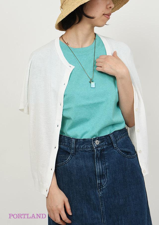 【2019春夏】ベーシック無地クルーネックTシャツ半袖【PL159099A】【ポートランド】