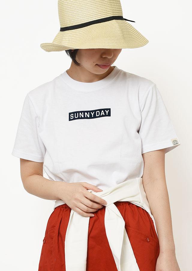 【2019春夏】SUNCOTTONフロッキーロゴプリントTシャツ半袖【PL159101】【ポートランド】