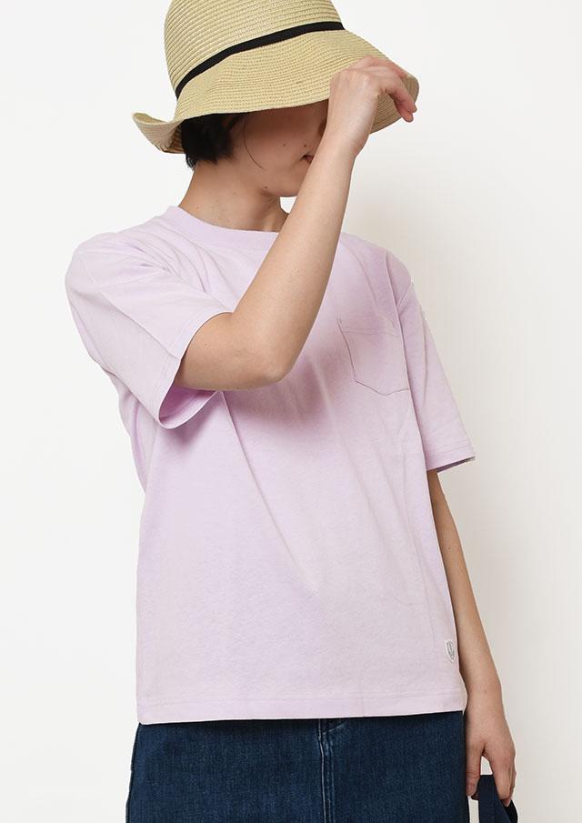 【2019春夏】SUNCOTTONポケット付きTシャツ半袖【PL159103】【ポートランド】