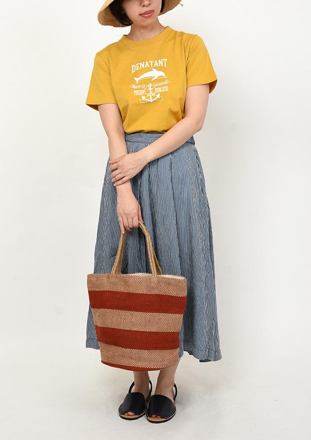 SALE!!【2019春夏】イルカプリントTシャツ半袖【PL159113】【ポートランド】