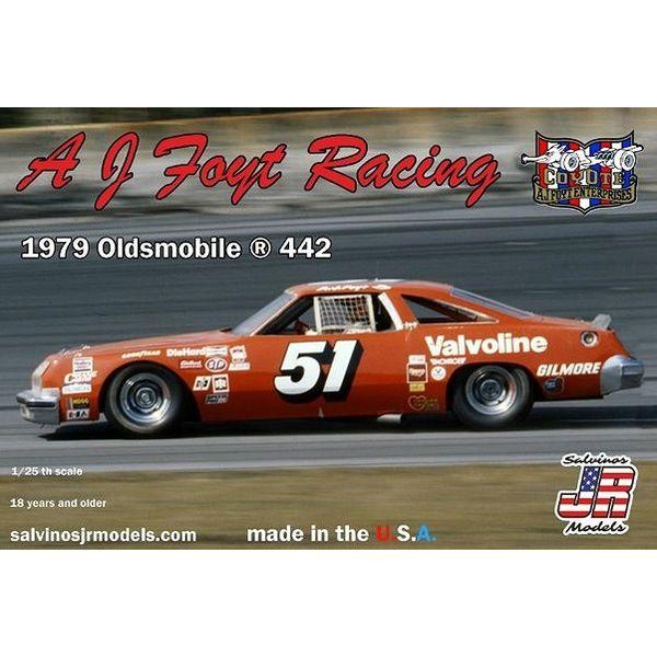 【8月予約】サルビノス J・R モデル 1/25 NASCAR '79 オールズモビル 442 A.J.フォイトレーシング スケールモデル SJMAJO1979D